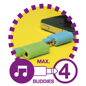 BuddyCableで音楽をシェア