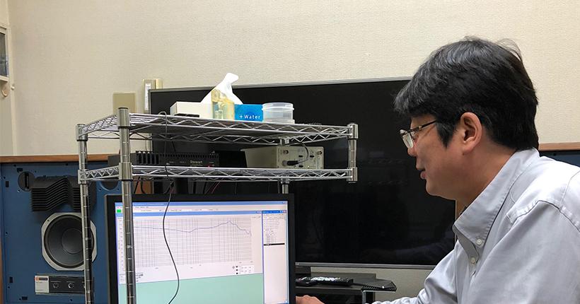 須山補聴器様須山社長