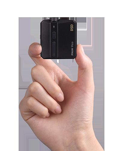 世界最小サイズのネイティブDSD対応機
