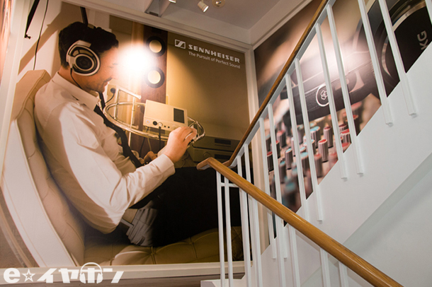 梅田EST店裏側階段